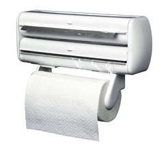 Double kitchen-roll holder.